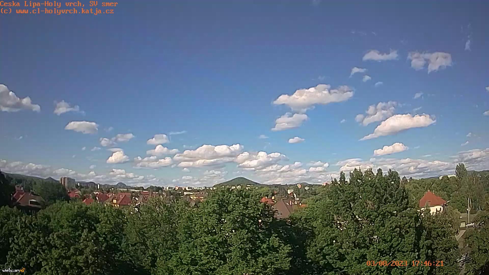 Webcam Česká Lípa-Holý vrch